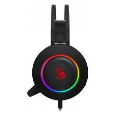 Наушники с микрофоном A4 Bloody G521 черный 2.3м мониторные USB оголовье (G521 (BLACK))