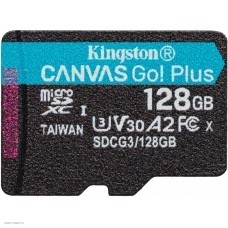 Карта памяти 128Gb MicroSD Kingston Class 10 (SDCG3/128GBSP)