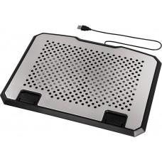 Охлаждающая подставка для ноутбука HAMA Aluminium (00053064)