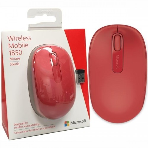 Манипулятор Microsoft Wireless Mobile 1850 Flame