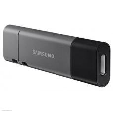 Флеш Диск Samsung 32Gb DUO Plus MUF-32DB/APC USB3.1 серебристый