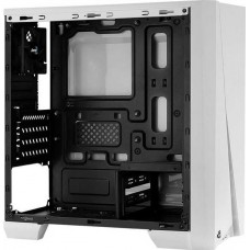Корпус mATX AEROCOOL Cylon Mini, Mini-Tower, без БП, белый (4718009159266)