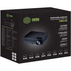 Проектор Cactus CS-PRM.05B.WXGA-A LCD 2800Lm (1280x800) 2000:1 ресурс лампы:30000часов 1xUSB typeA 1xHDMI 1кг