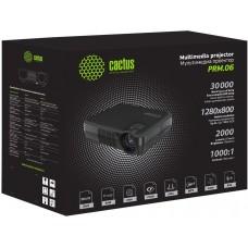 Проектор Cactus CS-PRM.06B.WVGA-W LCD 2000Lm (800x480) 1000:1 ресурс лампы:30000часов 1xUSB typeA 1xHDMI 1кг