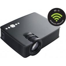 Проектор Cactus CS-PRE.09B.WVGA-W LCD 1200Lm (800x480) 350:1 ресурс лампы:30000часов 1xUSB typeA 1xHDMI 1.5кг