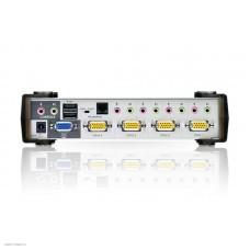 KVM-переключатель ATEN 4 PORT KVM & USB FOR PS2 W/1.8
