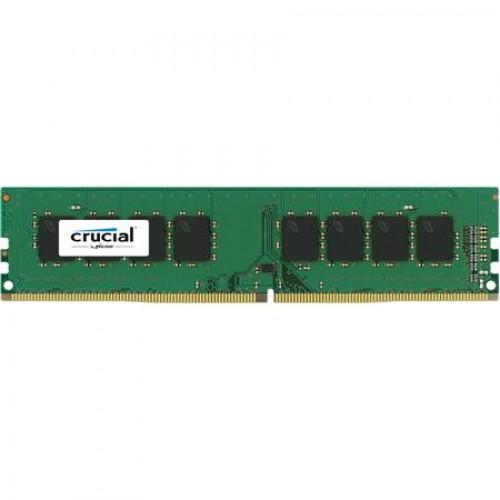 Модуль DIMM DDR4 SDRAM 4096Мb Crucial (PC4-19200, 2400MHz) CL17 (CT4G4DFS824A)