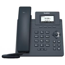 Телефон SIP Yealink SIP-T30P WITHOUT PSU черный
