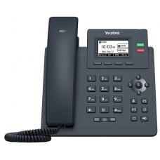 Телефон SIP Yealink SIP-T31P WITHOUT PSU черный