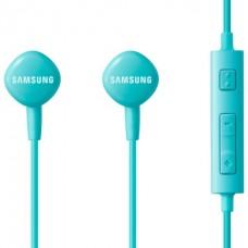 Гарнитура Samsung EO-HS130 голубой, проводные, в ушной раковине, 1.2м