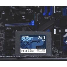 Накопитель SSD Patriot SATA III 240Gb PBE240GS25SSDR Burst Elite 2.5\