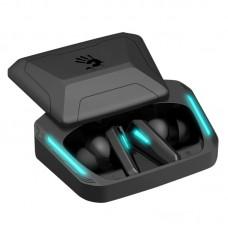 Наушники с микрофоном A4Tech Bloody M70 черный/синий вкладыши BT в ушной раковине (M70 BLACK+BLUE)