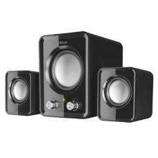 Колонки Trust Speaker System Ziva, 2.1, 6W(RMS), USB / Mini jack 3.5mm, Black [21525]