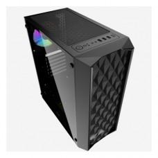 Корпус Powercase Diamond Mesh LED 1x120mm 5-color CMDM-L1