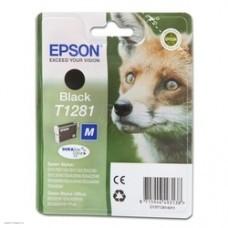 Картридж EPSON T1281, черный [c13t12814012]