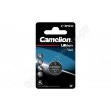 Батарея Camelion Lithium CR2032 BL-1 CR2032 210mAh (1шт) блистер