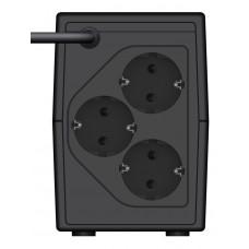 Источник бесперебойного питания Ippon Back Basic 650S Euro 360Вт 650ВА черный