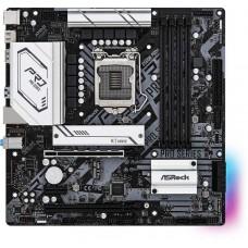 Материнская плата Asrock B560M PRO4 Soc-1200 Intel B560 4xDDR4 mATX AC`97 8ch(7.1) GbLAN+HDMI+DP