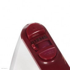 Миксер DELTA LUX DE-7700 белый с бордовым