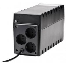 ИБП Powercom Raptor, Line-Interactive, 600VA/360W, Tower, Schuko (657704)