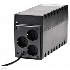 ИБП Powercom Raptor, Line-Interactive, 800VA/480W, Tower, Schuko (859784)