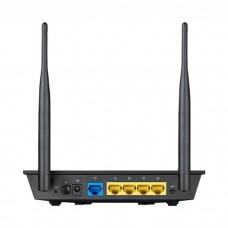 Маршрутизатор Asus RT-N12 VP 4xLAN, 1xWAN, 802.11b/g/n до 300 Мбит/с, 2 антенны, 10/100BASE-TX Black (90-IG10002RB2-3PA0-)