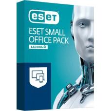 Антивирус ESET NOD32 Small Office Pack Базовый 3 пользователя 1 год Новая лицензия BOX