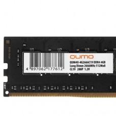 Оперативная память QUMO [QUM4U-4G2666C19]