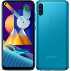Смартфон Samsung Galaxy M11 32 ГБ голубой