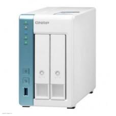 Сетевое хранилище NAS Qnap TS-231P3-2G 2-bay