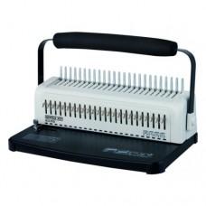 Переплетчик Office Kit B2115D A4/перф.15л.сшив/макс.450л./пластик.пруж. (6-51мм)