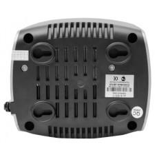 Стабилизатор POWERMAN AVS 500C, ступенчатый регулятор, 500ВА/280Вт, 150-280В, максимальный входной ток 4А, 2 евророзетки, IP-20, напольный,  151мм х 126мм х 123мм, 1.4 кг. POWERMAN AVS 500 C