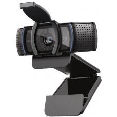 Камера Web Logitech HD Pro Webcam C920S черный 3Mpix USB2.0 с микрофоном для ноутбука