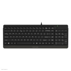 Клавиатура + мышь A4Tech Fstyler F1512 клав:черный мышь:черный USB