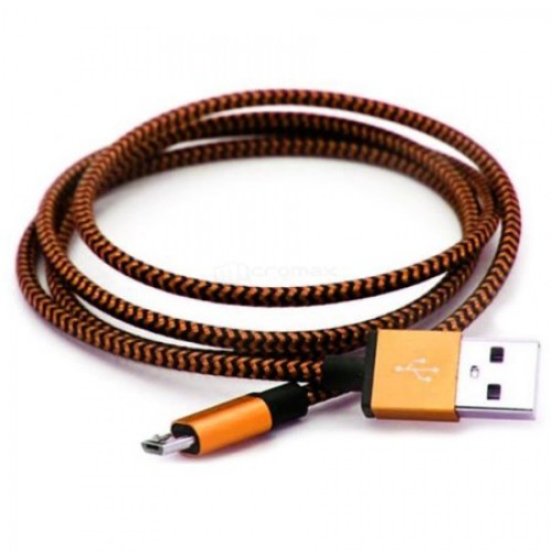 Кабель USB 2.0 - microUSB, 1.2м Smartbuy (iK-12met) White