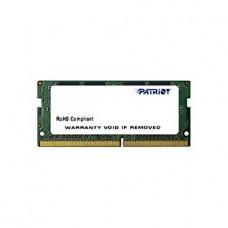 Модуль памяти SODIMM DDR4 SDRAM 4096 Mb (PC-17000, 2133MHz) CL15 Patriot Signature (PSD44G213381S)
