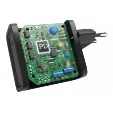 Блок питания Hama H-200005 USB-C Notebook Power автоматический 45W 5V-20V 3A 1xUSB от бытовой электросети