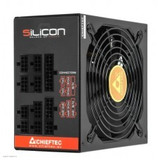 Блоки питания Chieftec Silicon SLC-850C (ATX 2.3, 850W, 80 PLUS BRONZE, Active PFC, 140mm fan, Full Cable Management) Retail