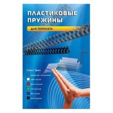 Пластиковые пружины OFFICE KIT 6 мм черные 100 шт.