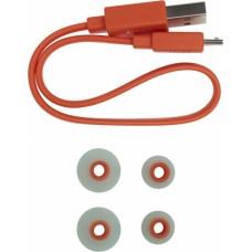 Наушники внутриканальные с микрофоном JBL T115BT BT 4.2, до 8 часов, 19г, цвет бирюзовый