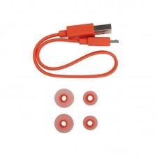 Наушники внутриканальные с микрофоном JBL T115BT BT 4.2, до 8 часов, 19г, цвет кораловый
