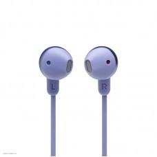 Наушники внутриканальные с микрофоном JBL T215 BT 5.0, до 16 часов, цвет фиолетовый