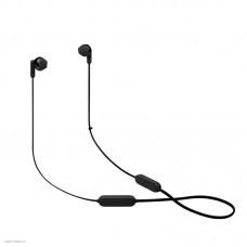 Наушники внутриканальные с микрофоном JBL T215 BT 5.0, до 16 часов, цвет черный
