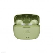 Наушники внутриканальные с микрофоном JBL T215 TWS BT 5.0, до 5 часов, цвет зеленый