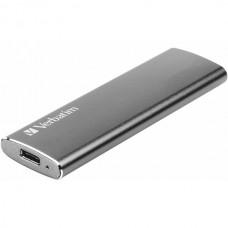 Внешний твердотельный накопитель Verbatim portable ssd VX500 USB 3.1 G2 120GB