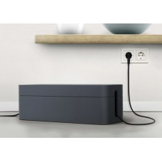 Бокс для проводов Durable Cavoline Box (503037) пластик темно-серый