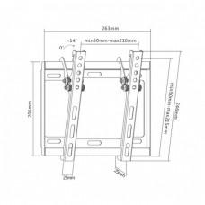 Кронштейн для телевизора Ultramounts UM831TW белый 17