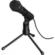Микрофон проводной Hama MIC-P35 Allround 2.5м черный