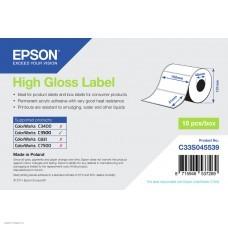 Лента Epson High Gloss Label 102 x 51mm. 610 lab C33S045539