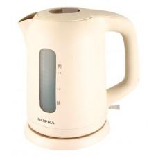 Чайник Supra KES-1702 бежевый/белый 1.7л. 2200Вт